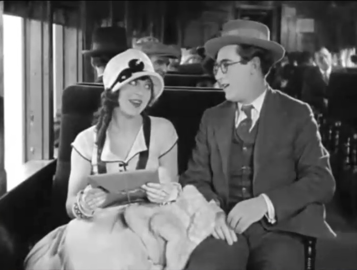 Jobyna Ralston and Harold Lloyd in Girl Shy 1924 05