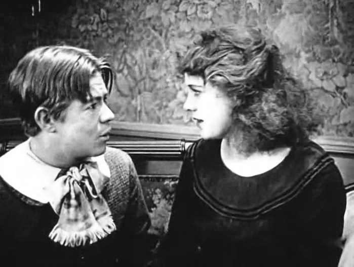 Lewis Sargent and Esther Ralston in Huckleberry Finn 1920 5a