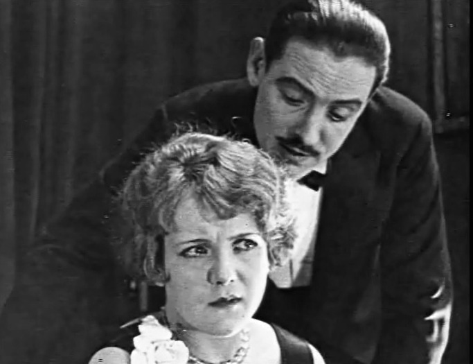 Pauline Garon and David Powell in The Average Woman 1924 16