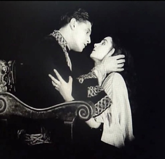 Nina Vanna and Ivor Novello in The Man Without Desire 1923 8