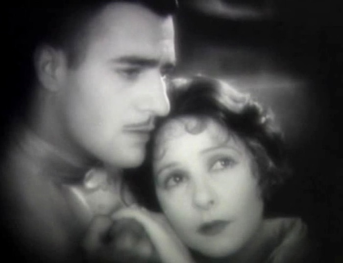 Gilbert Roland and Norma Talmadge in The Woman Disputed 1928 06