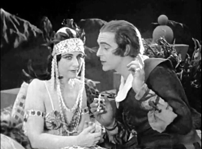 Geraldine Farrar and Wallace Reid in The Woman God Forgot 1917 4