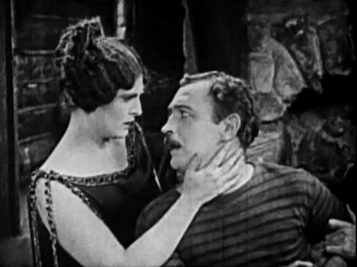 Priscilla Dean and Raymond Griffith in White Tiger 1923 08