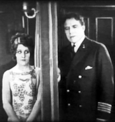 Patsy Ruth Miller and House Peters in Head Winds 1925 00