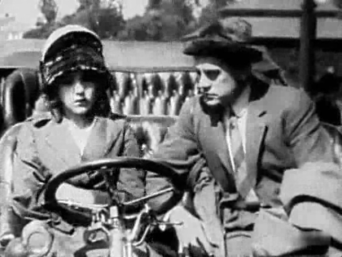 Mary Pickford and Edwin August in A Beast at Bay 1912 director DW Griffith cinematographer Billy Bitzer 11a