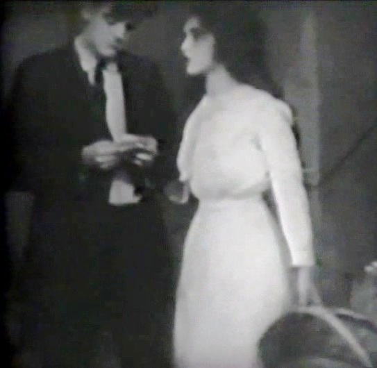 Robert Harron and Florence La Badie in Bobby the Coward 1911 director DW Griffith cinematographer Billy Bitzer 13