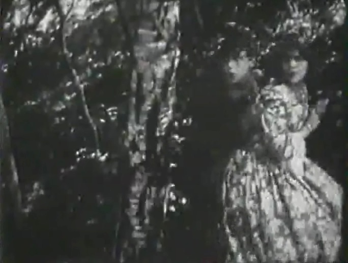 Florence La Badie and Robert Harron in Fighting Blood 1911 director DW Griffith cinematographer Billy Bitzer 7