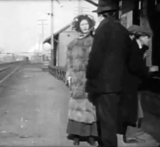 Robert Harron in Her Terrible Ordeal 1911 director DW Griffith cinematographer Billy Bitzer 000