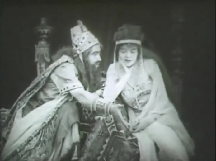 Henry Walthall and Blanche Sweet in Judith of Bethulia 1914 director DW Griffith cinematographer Billy Bitzer 12