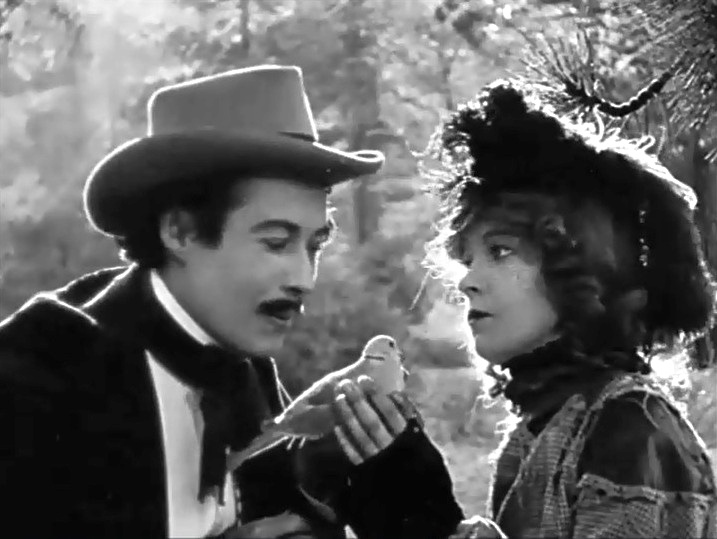 Henry Walthall and Lillian Gish in The Birth of a Nation 1915 04