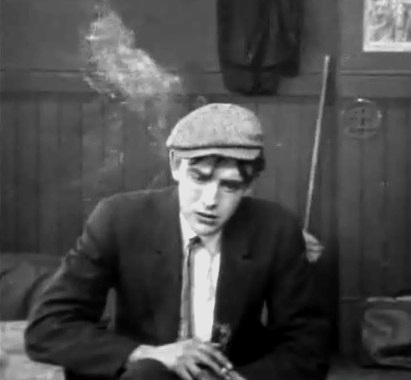 Robert Harron in The Burglars Dilemma 1912 director DW Griffith cinematographer Billy Bitzer 00