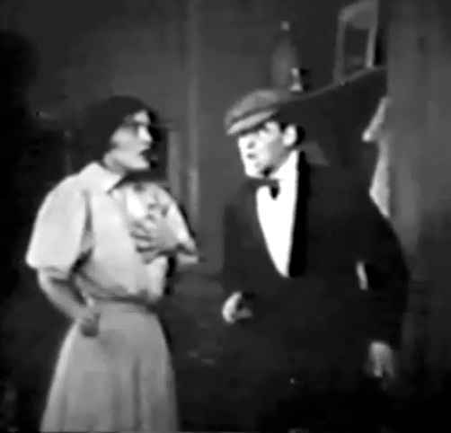 Claire McDowell and Robert Harron in The Long Road 1911 00