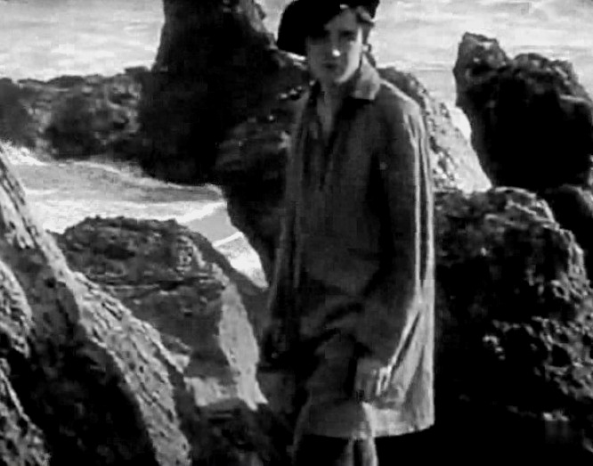Robert Harron in The Sands of Dee 1912 18