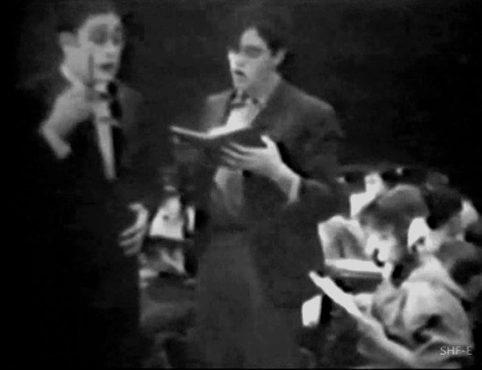 Robert Harron in The School Teacher and the Waif 1912 02