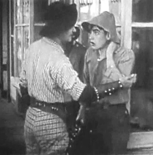 Robert Harron and Wilfred Lucas in Under Burning Skies 1912 02b