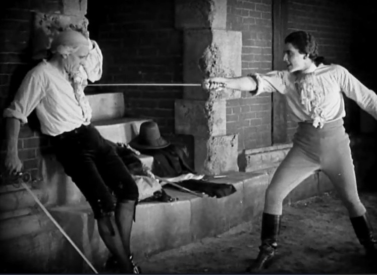 Lewis Stone and Ramon Novarro in Scaramouche 1923 14