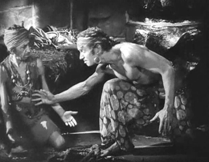 Snitz Edwards and Douglas Fairbanks in The Thief of Bagdad 1924 05
