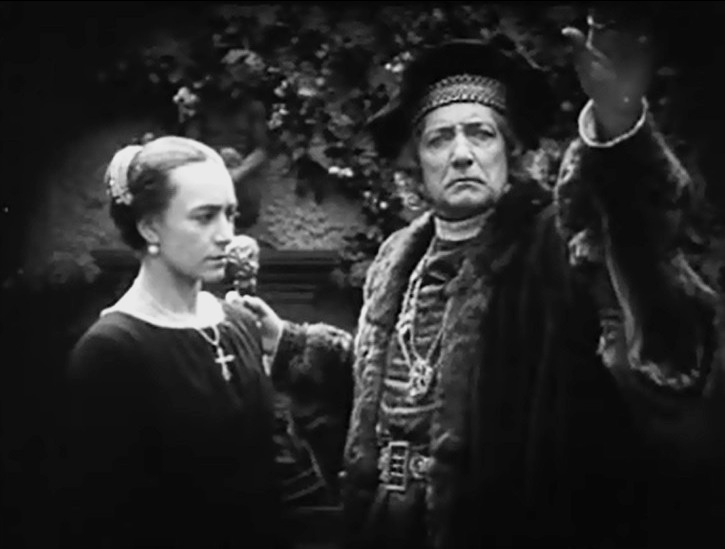 Jenny Hasselqvist and Tore Svennberg in Loves Crucible 1922 15