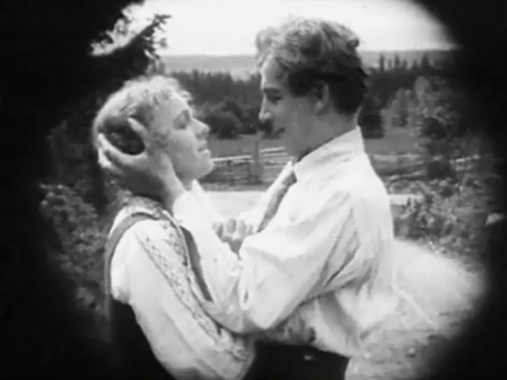Greta Almroth and Lars Hanson in The Girl from Stormy Croft 1917