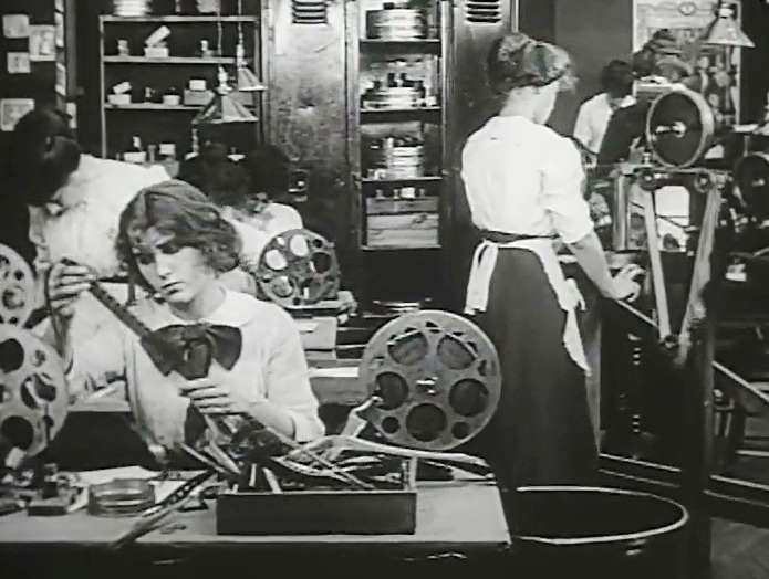 Florence La Badie in The Evidence of the Film 1913 27