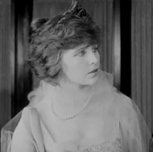 Florence La Badie in The Woman in White 1917 000